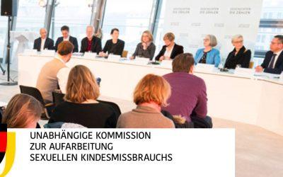 Kommission zur Aufarbeitung sexuellen Kindesmissbrauchs veröffentlicht Empfehlungen